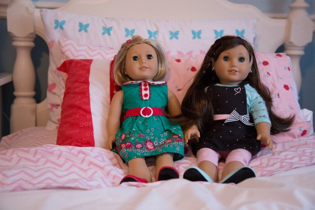 Kit and Grace American Girl Dolls